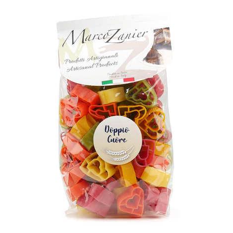 Zanier - Specialità Cuoricini 6 Colori - multicoloured heart-shaped pasta