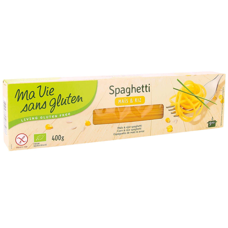 Spaghetti made with organic rice and corn flour - gluten free
