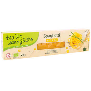 Ma vie sans gluten - Spaghetti made with organic rice and corn flour - gluten free