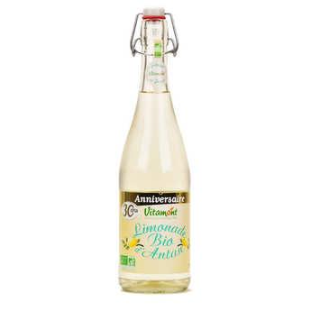 Vitamont - Limonade d'Antan au sucre de canne et au citron BIO