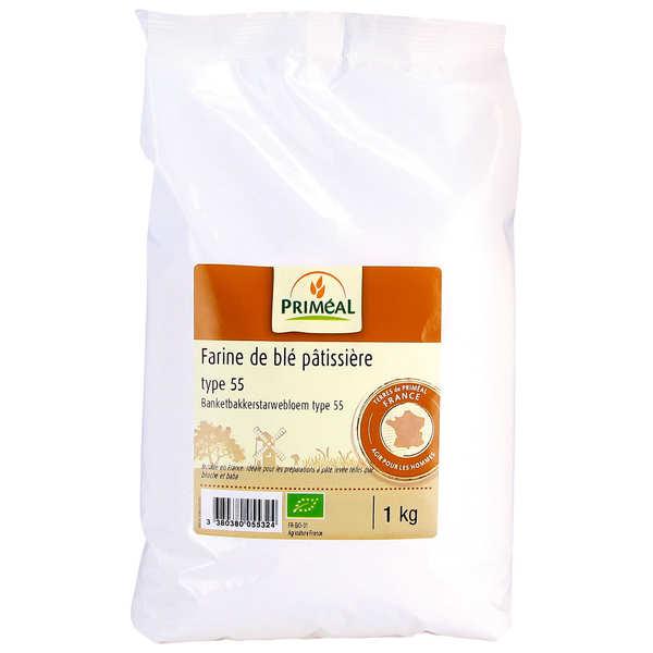 Farine pâtissière de blé T55 BIO