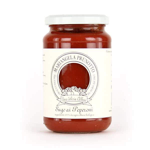 Sauce tomate italienne au poivron bio
