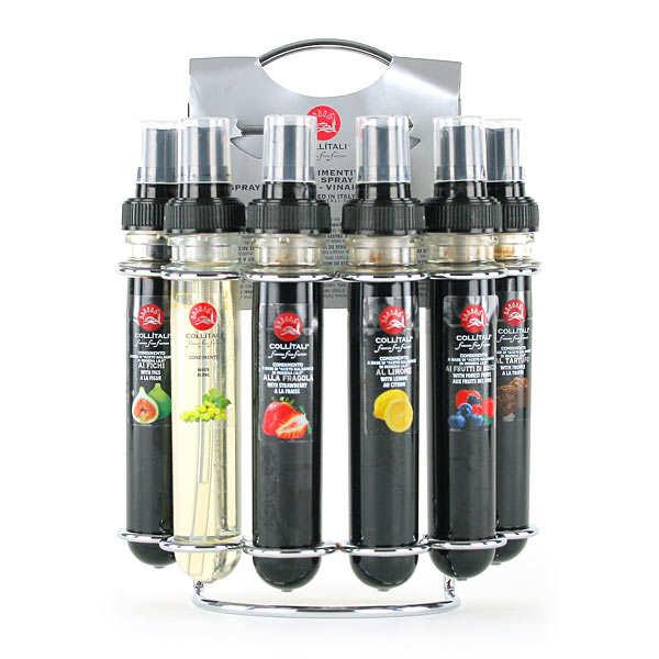 Farandole de vinaigres balsamiques aux fruits en spray