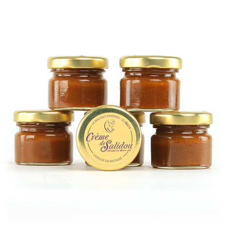 La Maison d'Armorine - Salidou, crème de caramel au beurre salé - pot dégustation