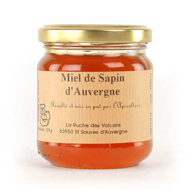 Pine honey from the Auvergne