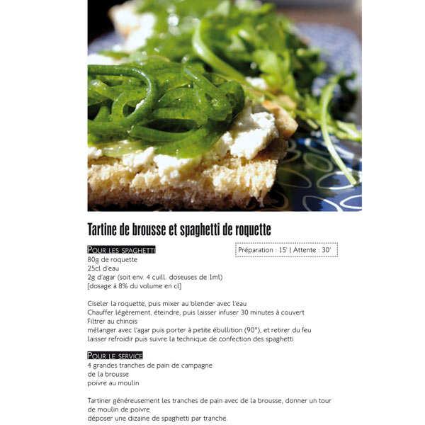 Spaghetti spaghettoni mol culaires livre de laurent - Spaghetti cuisine moleculaire ...