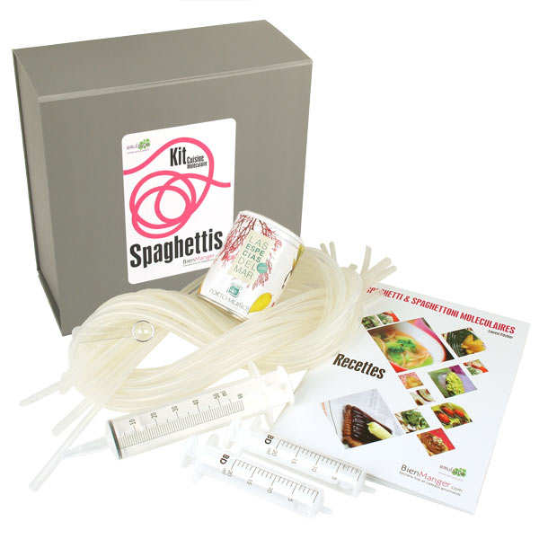 Kit spaghetti moléculaires pro BienManger - Le kit complet