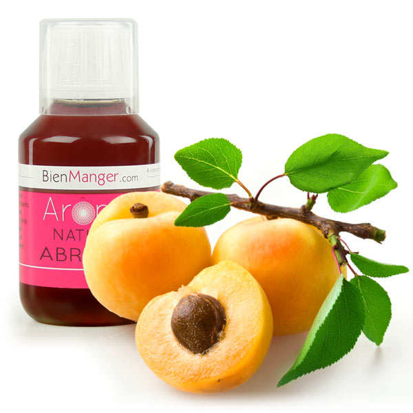 Natural apricot flavouring