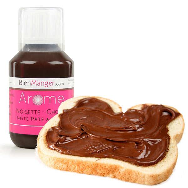 Arôme alimentaire de chocolat-noisette (Nut...)