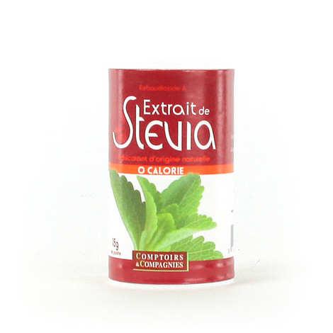 Comptoirs et Compagnies - Stevia blanche en poudre