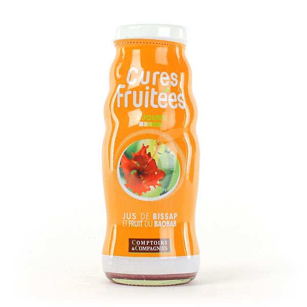 organic bissap juice and baobab fruit comptoirs et