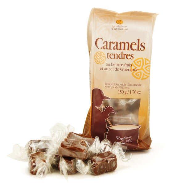 Caramels au beurre salé et au sel de Guérande