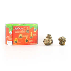 Creano - 4 organic white tea flowers box