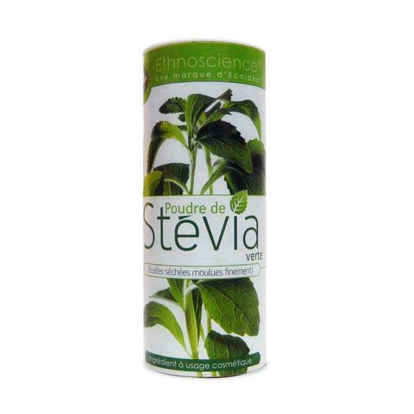 Powdered green stevia