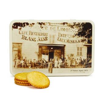 Georges Blanc - Galettes pur beurre de Bretagne en boite métal Georges Blanc