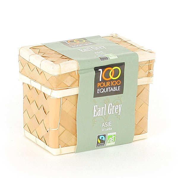 Fairtrade Earl Grey tea