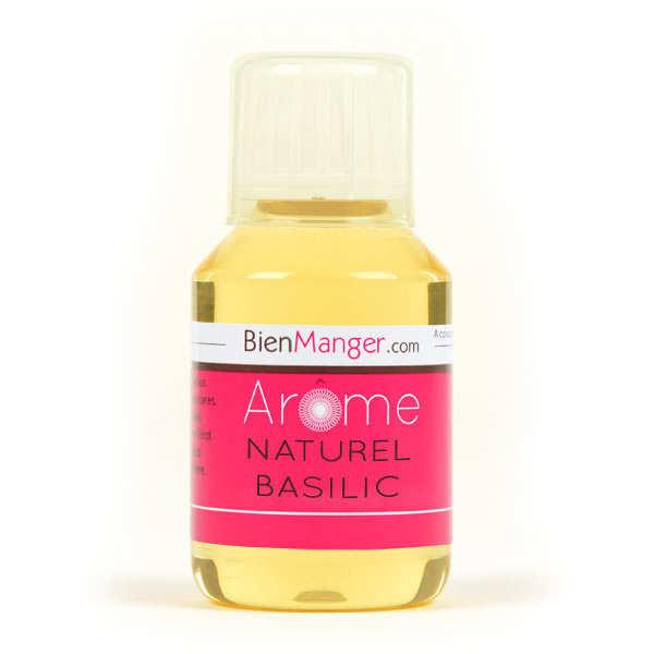 Arôme alimentaire de basilic