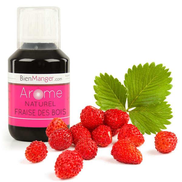 Arôme alimentaire de fraise des bois