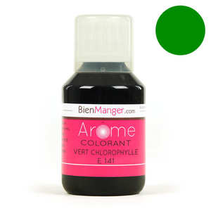 BienManger aromes&colorants - Chlorophyl green food colouring E141