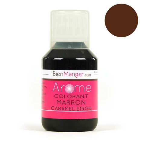 BienManger aromes&colorants - Colorant alimentaire marron caramel E150b - Liquide