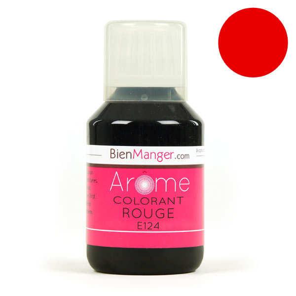 Colorant alimentaire rouge E124 - Liquide