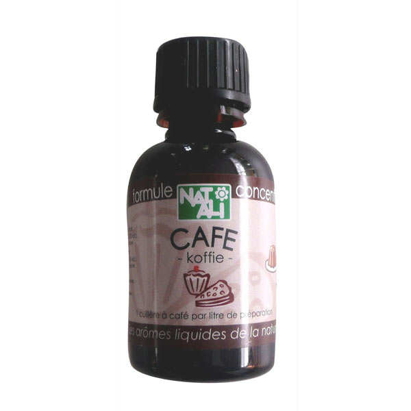 Arôme naturel de café bio - flacon 60ml
