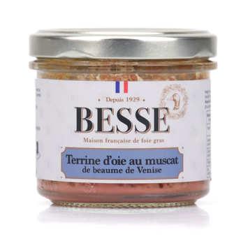 Foie gras GA BESSE - Terrine d'oie au Muscat de Beaumes de Venise