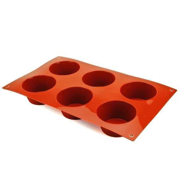 Moule à muffins et cupcakes en silicone