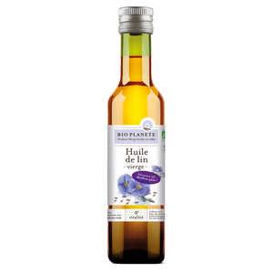 BioPlanète - Organic very soft virgin flax oil