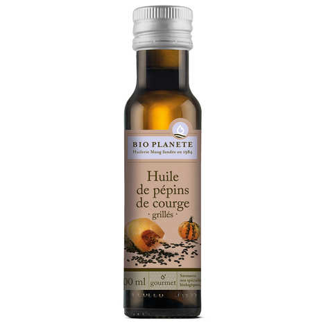 BioPlanète - Organic roasted pumpkin seed oil