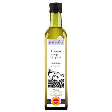 Huile d'olive vierge extra d'Italie DOP Gargano Bio