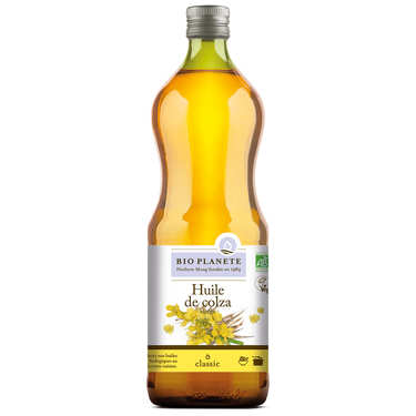 Organic virgin rapeseed oil