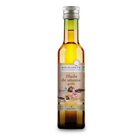 BioPlanète - Organic toasted sesame oil