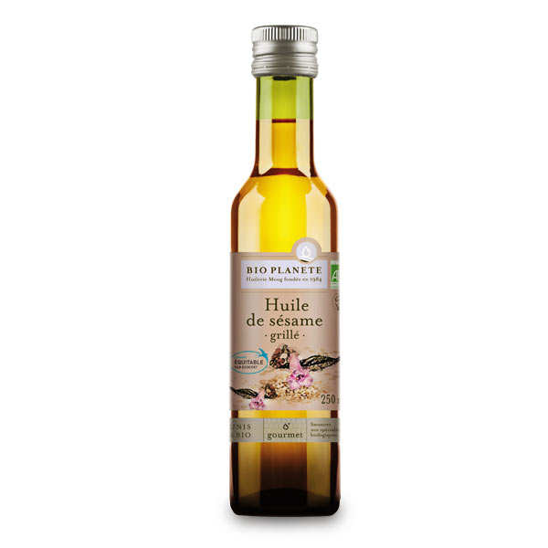 Organic toasted sesame oil
