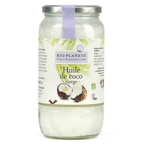 BioPlanète - Huile de coco vierge bio