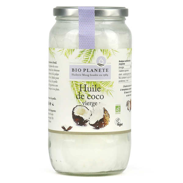Huile vierge de coco Bio