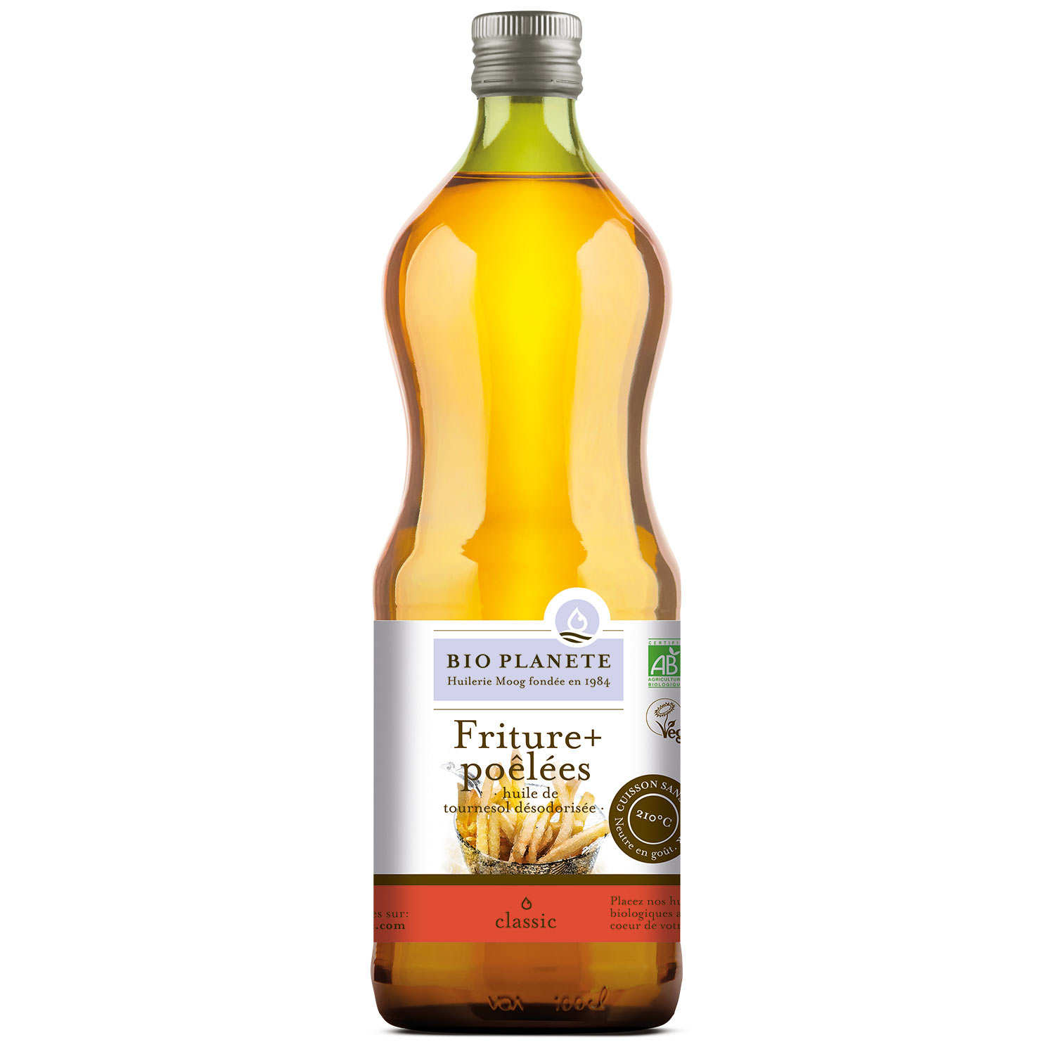 Organic sunflower oil for cooking and frying