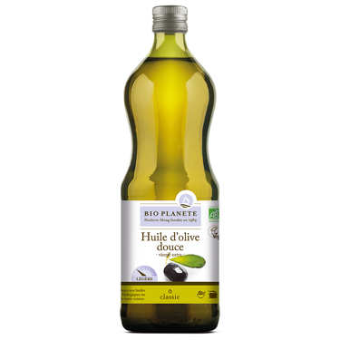 Huile d'olive vierge extra douce Bio