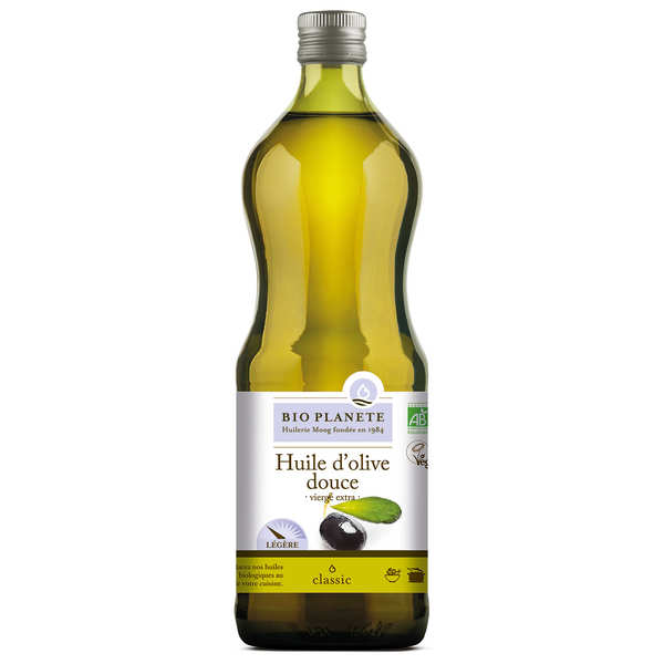 Organic extra virgin sweet olive oil