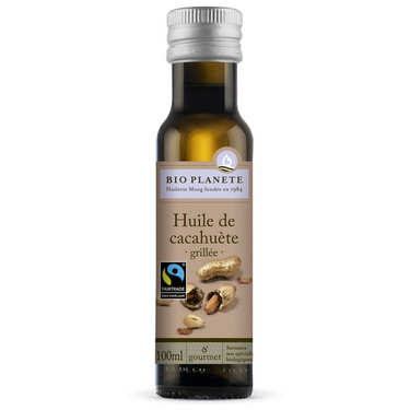 Organic Fairtrade virgin peanut oil