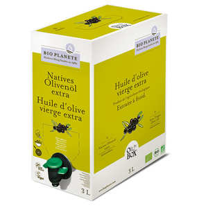BioPlanète - Organic extra virgin olive oil - BiB