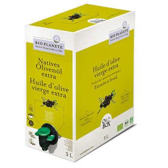 BioPlanète - Huile d'olive vierge extra bio en Bag in Box