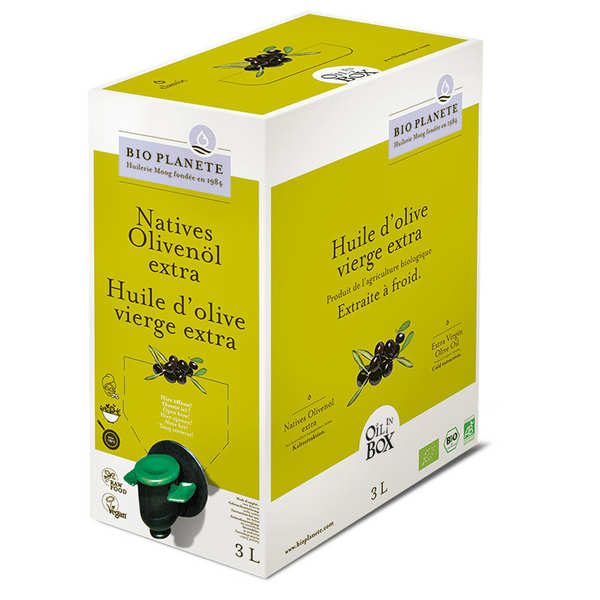 Organic extra virgin olive oil - BiB
