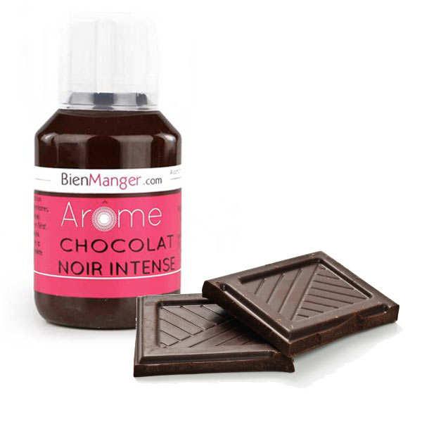 Arôme alimentaire de chocolat noir intense