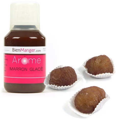 BienManger aromes&colorants - Arôme alimentaire de marron glacé