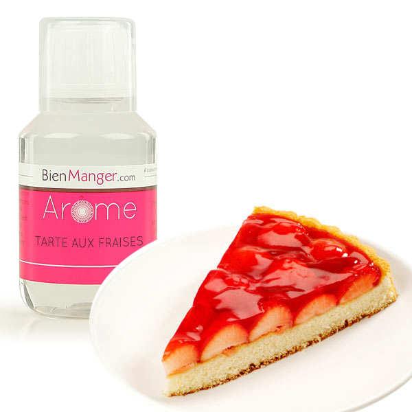 Arôme alimentaire de tarte aux fraises
