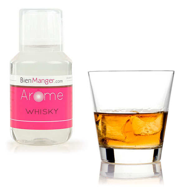 Whisky food flavouring