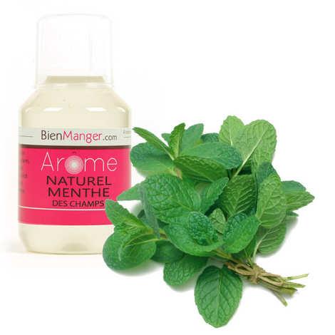 BienManger aromes&colorants - Arôme alimentaire de menthe forte - menthe des champs