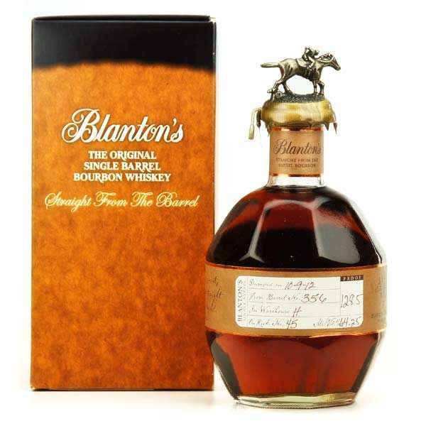 Whisky Blanton's Straight from the barrel