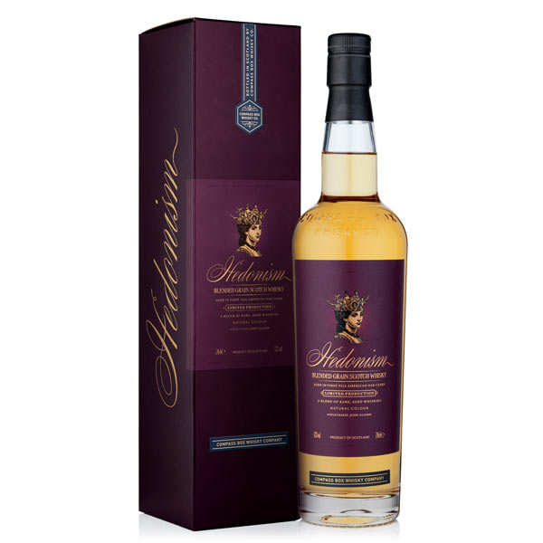 Hedonism - Whisky de grain - 43%